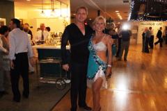 Jody & Brian - Instructors at Star Ballroom - After giving a Show