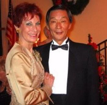Karen Donaldson with her Late Partner Ronnie Gardner