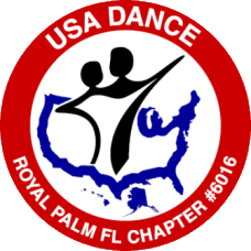USA Dance Royal Palm Chapter # 6016 Logo