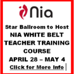 STAR BALLROOM HOSTED A NIA WHITE BELT TEACHER TRAINING COURSE!! – April 28 – May 4, 2017
