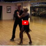 Jody Dancer & Brian Smith Performed a Fabulous Cha Cha at the Star Ballroom Fall Showcase 10-19-2019